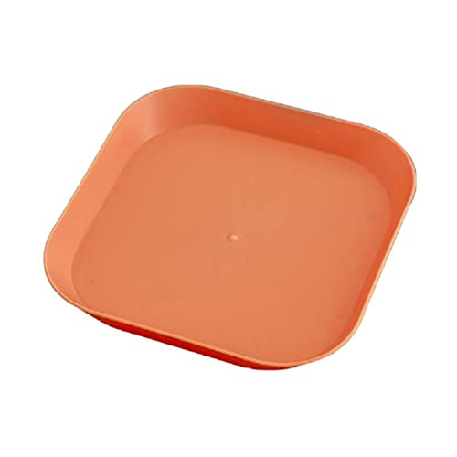 Tangpingsi Houseware,5-Inch PP Square Dinner Vegetable Fruit Cake Dessert Snack Service Board Table Garbage Dish Container Snack Panel