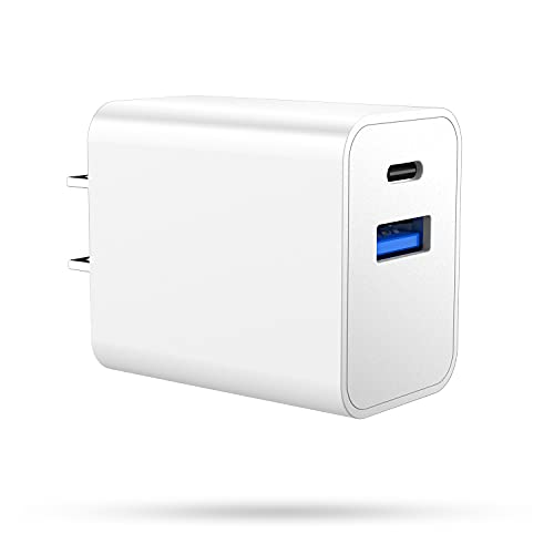 iPhone 13 Pro Max Fast Charger Block,Upgraded Durable Safest 20W PD Dual Port USB C Charger Wall Charger Type C Fast Charger Block for iPhone 13/13 Pro/13 Pro Max/13 Mini, iPhone 12 Pro Max Charger