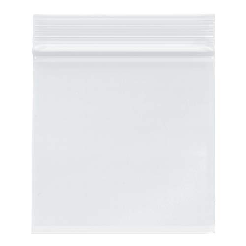 Plymor Heavy Duty Plastic Reclosable Zipper Bags, 4 Mil, 2″ x 3″ (Pack of 500)