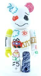 BE @ RBRICK Bearbrick SERIES17 CUTE CRAYON (japan import)