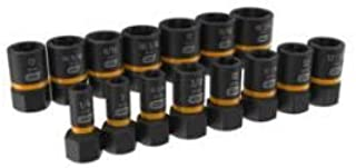 GearWrench 329-84783 0.25-0.50 in. Drive Bolt Biter Extension Socket Set - 15 Piece