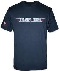 Charlie Sheen T-Shirt I'm an FA-18 BRO Größe M