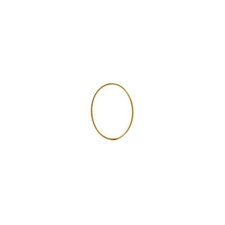 こどもの日対抗後者シャレドワミュゼ BLC ブローチ オーバル 7×5mm ゴールド 10p