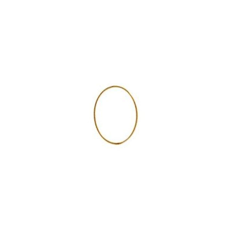 窒素破産年次シャレドワミュゼ BLC ブローチ オーバル 7×5mm ゴールド 10p