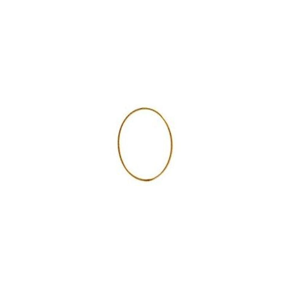 見捨てる二度電話をかけるシャレドワミュゼ BLC ブローチ オーバル 7×5mm ゴールド 10p