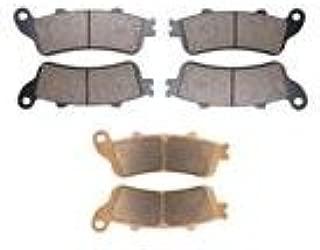 AHL Front & Rear Brake Pads Set for Honda GL1800 Goldwing (All models) 2001-2013