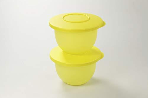 Tupperware Junge Welle kleine Schüssel 550 ml (2) gelb Schüssel 36780