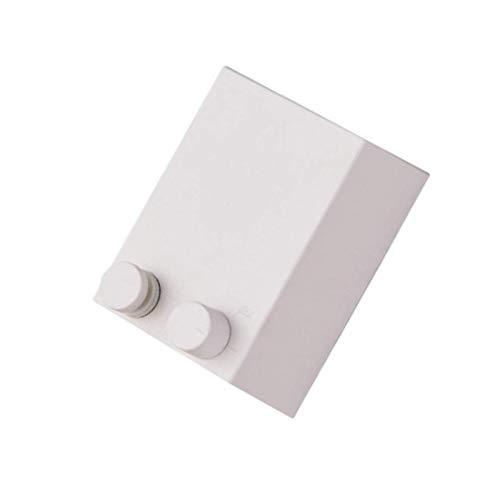 BANGSUN Tendedero retráctil ajustable de acero inoxidable, color blanco
