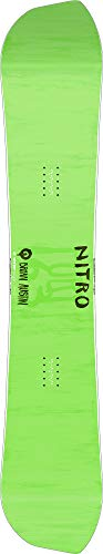 Nitro Snowboards Herren Quiver Fury BRD'20 True Asymmetrical Twin Freestyle Park Carving All Mountain Boards Snowboard, Mehrfarbig, 163 cm