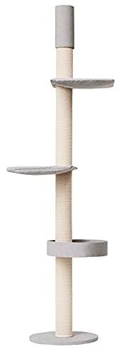 Kratzbaumland Designer-Kratzbaum Q55 Deckenspanner (versch. Größen)(231-246 cm)