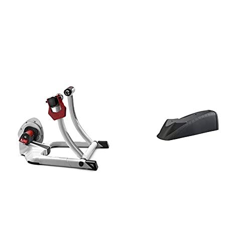 Elite E306 Qubo Fluid Rodillo Tecnología Fluid De Ciclismo + Calze Rueda Delantera Travel Block