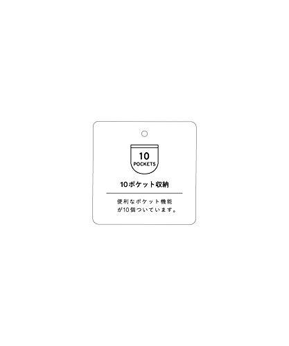 [アネロ]2WAYトート型リュックREGULARPOSTAT-C1225デニムブルー