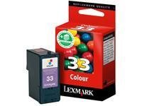 Lexmark 18CX033E 33 Tintenpatrone farbig Standardkapazität 11.5ml 250 Seiten