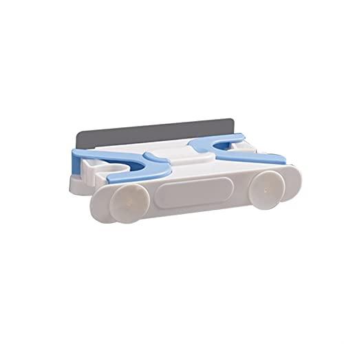 MZAW Gancio da Bagno Bathroom Bagno MOP Holder Hook Brush Brush Holder Storage Broom Gancio Cucina Bagno Gancio Accessori Gancio da Parete Autoadesivo Senza Cuciture, adatt