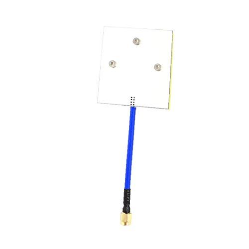 X-DREE RC-Modell-Hubschrauber-Audio-Video-Graph-SMA-Planarantennenantenne 5,8 GHz(planare SMA maschio con video analogica per elicotteri modello RC 5.8GHz