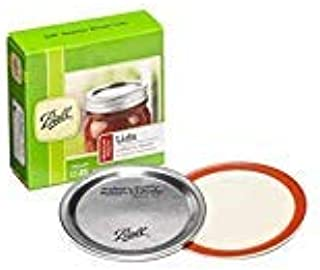 Ball Regular Mouth Canning Mason Jar Lids 12-Pieces Pack of 2