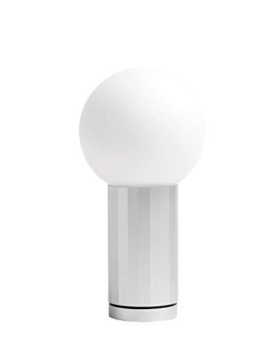 HAY Turn On Tischleuchte LED, Aluminium