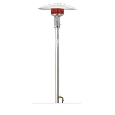 Buy Discount Permanent Natural Gas Patio Heater Finish: Stainless Steel, Series: E (Comes with Ign...