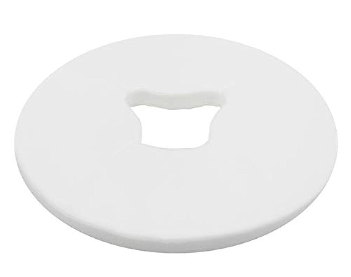 平和的乱れ影響力のあるピローカバー 枕カバー フェイスシート 使い捨て (100枚入)28*29.5cm【選べる2色!】(ホワイト)