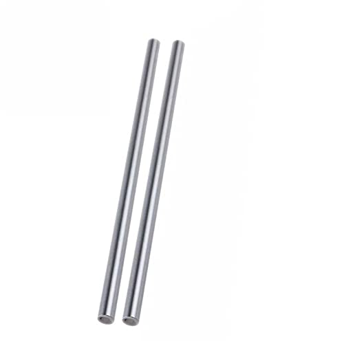 ADUCI 2 Pcs WCS12 12mm 500mm Linear Shaft Round Rod L500mm For CNC Parts XYZ WCS12 L500mm