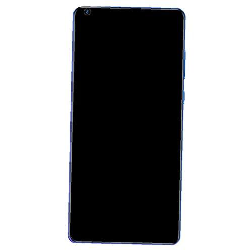 YepYes (7.2 Pulgadas IPS de Pantalla Completa) Android Móvil S30U 12 GB + 512 GB 10 10 Dual SIM-Core 5600mAh, teléfonos celulares desbloqueados, móvil, Azul