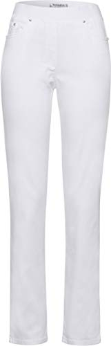 Raphaela by Brax Damen Style Pamina Denim Slim Jeans, White, 54K