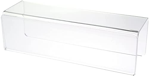 Source One Deluxe Clear Acrylic Cubicle Sign Holder & Name Plates 3 Sizes Available (3 Inch Hook, Name Plate)