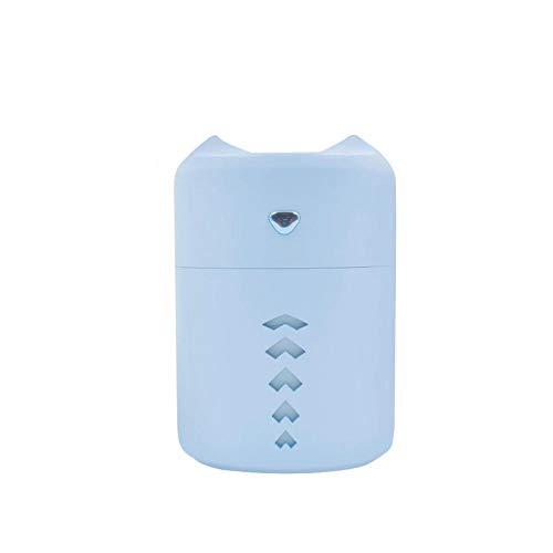 TaoRan Luchtbevochtiger met dubbele sproeikop, kleine USB-microfoon, groot gereedschap voor het bevochtigen van vocht