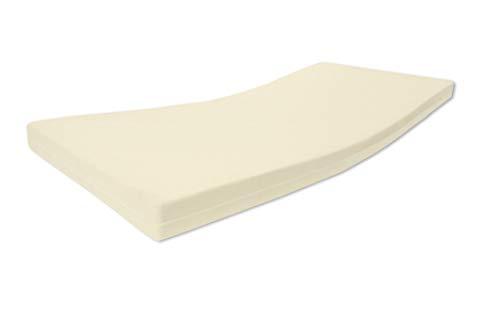 Alanpur®: Vita • Colchón ortopédico de espuma fría • H2,5 de dureza media a firme • Altura de aprox. 13 cm de aloe vera lisa funda 60 °C certificado Öko-Tex, fabricado en Alemania (125 x 190 cm)