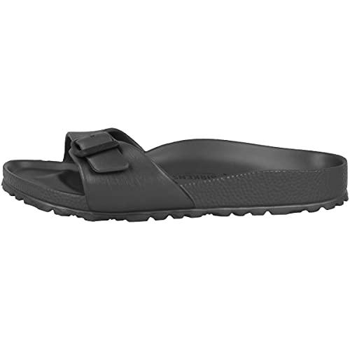 Birkenstock Schuhe Madrid EVA Normal Metallic Anthracite (1001501) 41 Grau