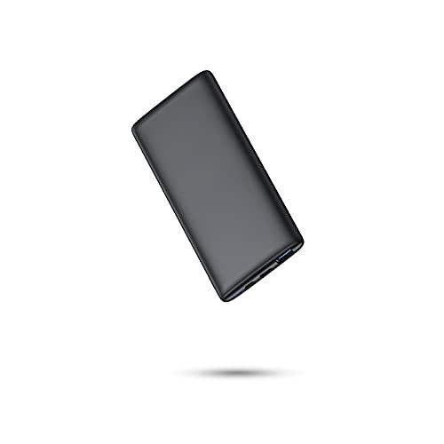 BABAKA Power Bank 10000mAh Bateria Externa para Móvil PD18W & QC3.0 Carga Rápida Ultra-Thin y Ligero Cargador Portátil con 2 Salidas 2 Entradas para Smartphone, Tablet, y los Productos 3C