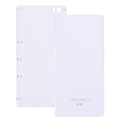 Tangyongjiao Accesorios para Celular Xiaomi Mi Note Cubierta Trasera de la batería de plástico (Color : Blanco)
