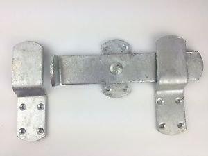 Wyre Direct - Chiavistello per porta, resistente, galvanizzato