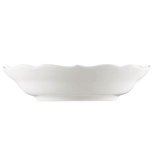 Hutschenreuther 02013-800001-14721 Soucoupe 2 Haute, Porcelaine, Blanc, 14,4 x 13,5 x 7,3 cm