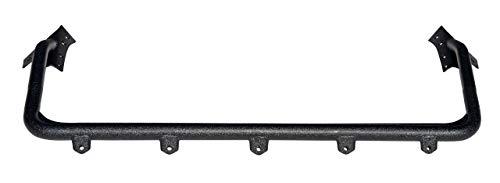 Lampenbügel Stahl schwarz incl. 5 Halterungen für Zusatzscheinwerfer mit Teilegutachten