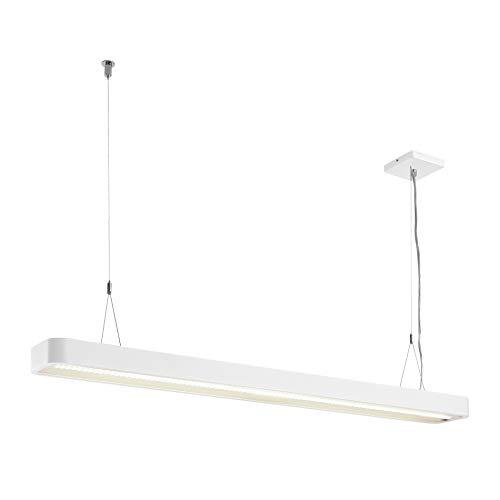 SLV WORKLIGHT PLUS PD - Lámpara colgante para salón, iluminación interior, para comedor, LED, 4000 K, 48 W, 5520 lm, color blanco regulable
