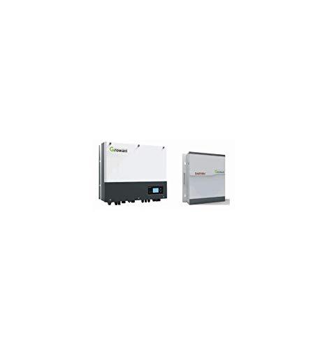 KIT GROWATT SPH4600 IBRIDO 8 KW (4,6 KW AC) + BATT.LITIO 2,7KW KIT ACCUMULO