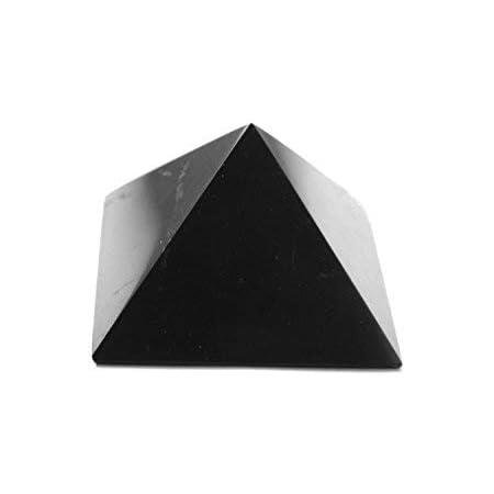 """Set of 10 unpolished shungite pyramid 30x30mm wholesale EMF Karelia decor 1,18/"""""""