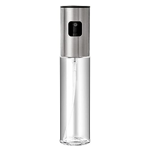 SHHMA Botella de Spray de Aceite Botella del dispensador de vinagre y cocinar el pulverizador de Aceite de Oliva para el Control de Aceite de freír asado de la Barbacoa,100ML