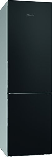 Miele KFN 29233 bb Kühl-Gefrier-Kombination / Energieeffizienz A+++ / 201 cm Höhe / 174 kWh / 101 Liter Gefrierteil / Geräumige Schublade mit verstellbarer Feuchtigkeit - Dailyfresh