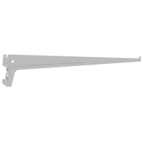 Element System 18133-00015 PRO-Träger Regalträger 1-reihig / 2 Stück / 7 Abmessungen / 3 Farben/L = 40 cm/weiß/für Regalsystem/Wandschiene