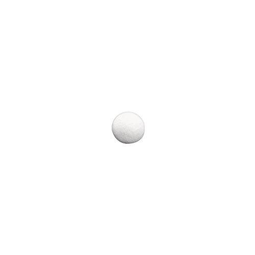 RAYHER - Wattekugeln, wei�, , 15 mm �, SB-Btl. 40 St�ck