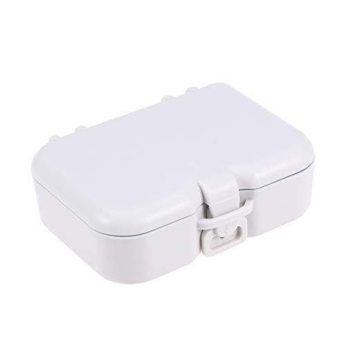 HEALLILY Prothesendose Box Zahnspangendose Dental Box Zahnprothesenbecher Behälter Zahnprothese Becher für Erwachsene Alten