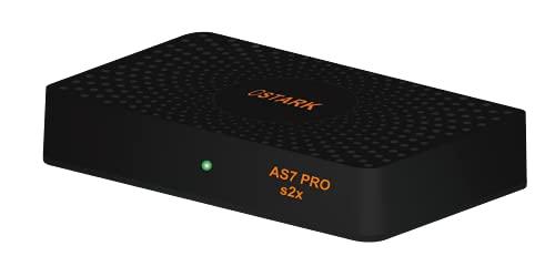 Ostark AS7 Pro Receptor de satelite DVB S2X Full HD Youtube H.265 HEVC con USB WiFi Incluido