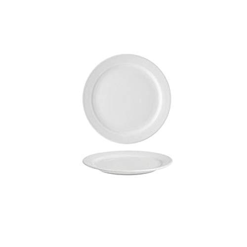 Alar f6K4Habana Plato de Postre, cerámica, Blanco, 30x 20x 30cm