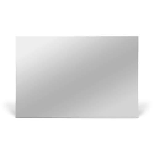 Aluminium Platte für Sublimation Silber Mirror, 10 Stück 200 x 300mm