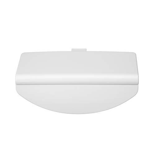 MIRTUX Tirador Puerta de Frigorífico Liebherr Original. Color Blanco. Código del recambio: 7422482 y 7042614 (ver todos los modelos compatibles en la descripción).