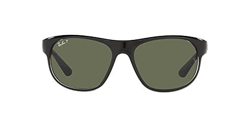 Ray-Ban 0RB4351-60399A-59, Gafas Hombre, Black On Trasparent