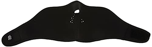 ZANheadgear Unisex-Adult Half Face Mask Black