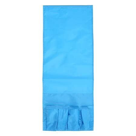 ZHHOOHAG Betttasche Sofa Side Storage Bag 4 Taschen Telefon Couch Fernseher Remote Control Sungybies Aufbewahrungstasche Bett Organizer (Color : Blue)